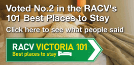 Voted No. 2 in the RACV 101 Best Places to Stay. Click here to read what people said. RACV Victoria 101. Best Places to Stay.