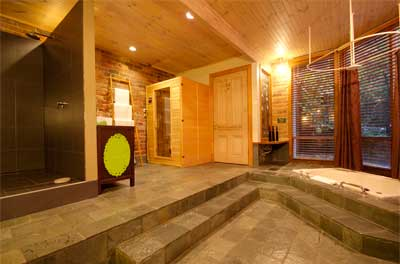 Sanctuary Tower - Luxury Spa room and Sauna at Linden Gardens